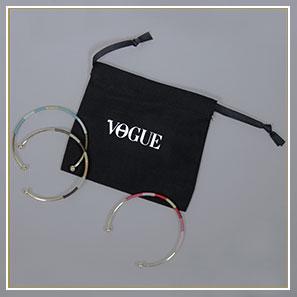Pochon Vogue avec bracelets